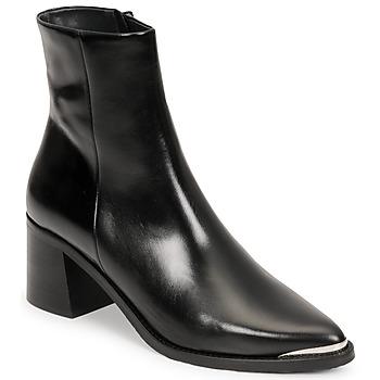 Schoenen Dames Enkellaarzen Jonak DELO Zwart
