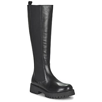 Schoenen Dames Hoge laarzen Jonak REBEL Zwart