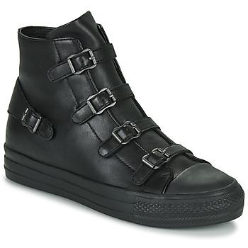 Schoenen Dames Hoge sneakers Ash VIRGIN Zwart