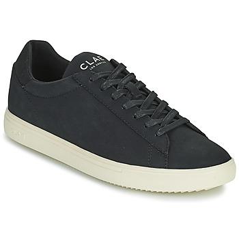 Schoenen Heren Lage sneakers Clae BRADLEY VEGAN Zwart / Wit