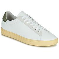 Schoenen Heren Lage sneakers Clae BRADLEY CALIFORNIA Wit / Groen