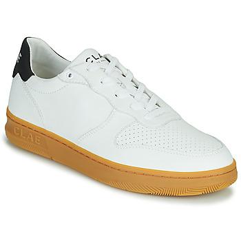 Schoenen Heren Lage sneakers Clae MALONE VEGAN Wit / Blauw