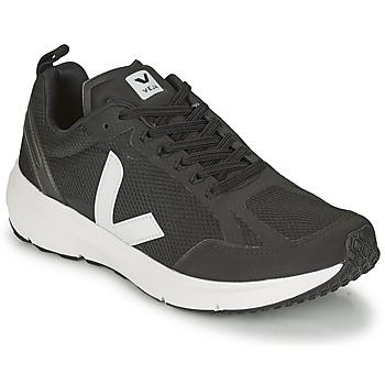 Schoenen Lage sneakers Veja CONDOR 2 Zwart / Wit
