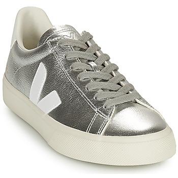 Schoenen Dames Lage sneakers Veja CAMPO Zilver / Wit