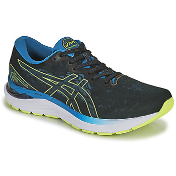 Schoenen Heren Running / trail Asics GEL-CUMULUS 23 Zwart / Blauw / Geel
