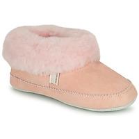 Schoenen Meisjes Sloffen Shepherd PITEA Roze