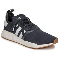 Schoenen Lage sneakers adidas Originals NMD_R1 Marine / Wit