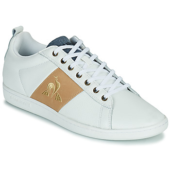 Schoenen Heren Lage sneakers Le Coq Sportif COURTCLASSIC Wit / Tan