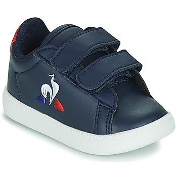 Schoenen Kinderen Lage sneakers Le Coq Sportif COURTSET INF Blauw