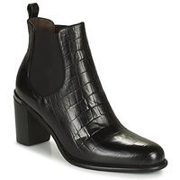 Schoenen Dames Hoge laarzen Adige FANY V5 CAIMAN NOIR Zwart