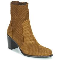 Schoenen Dames Hoge laarzen Adige FARA V2 ECAILLE NOIX Brown