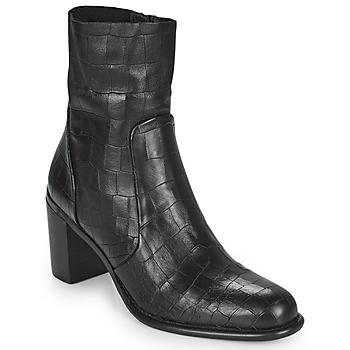 Schoenen Dames Hoge laarzen Adige FARA V4 DRAGON BRONZE Zwart