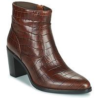 Schoenen Dames Hoge laarzen Adige IZEL V3 CAIMAN COGNAC Brown