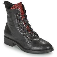Schoenen Dames Laarzen Metamorf'Ose KARDIESSE Zwart