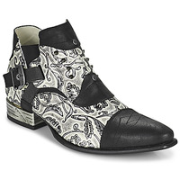 Schoenen Heren Derby New Rock M-NW135-C12 Wit / Zwart