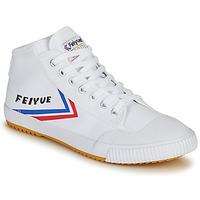 Schoenen Heren Hoge sneakers Feiyue FE LO 1920 MID Wit / Blauw / Rood