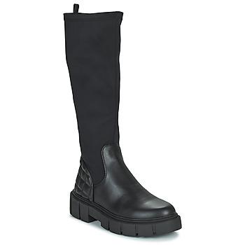 Schoenen Dames Hoge laarzen MTNG 50190-C51975 Zwart