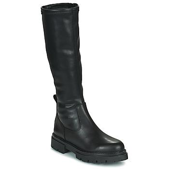 Schoenen Dames Hoge laarzen MTNG 52465-C52355 Zwart