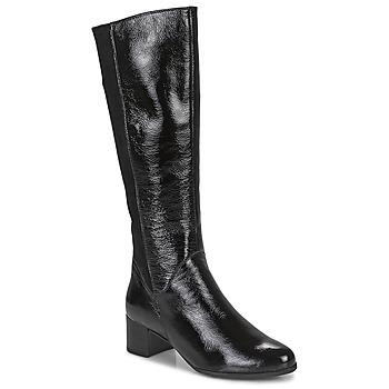 Schoenen Dames Hoge laarzen Caprice 25517-011 Zwart
