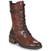 Schoenen Dames Laarzen Caprice 25202-351 Cognac