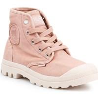Schoenen Dames Hoge sneakers Palladium Manufacture US Pampa HI Rose