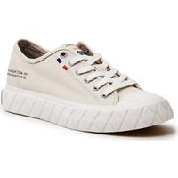 Schoenen Dames Lage sneakers Palladium Manufacture Ace Cvs Beige