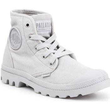 Schoenen Dames Hoge sneakers Palladium Manufacture Pampa HI Gris