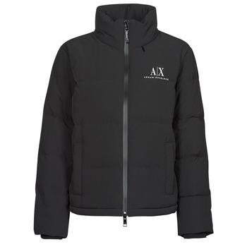 Textiel Dames Dons gevoerde jassen Armani Exchange 6KYB11 Zwart