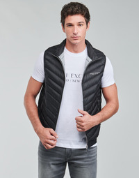 Textiel Heren Dons gevoerde jassen Armani Exchange 8NZQ52 Zwart
