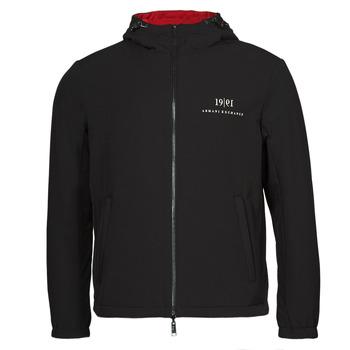 Textiel Heren Wind jackets Armani Exchange 6KZB56 Zwart