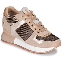Schoenen Dames Lage sneakers Gioseppo LILESAND Beige / Goud