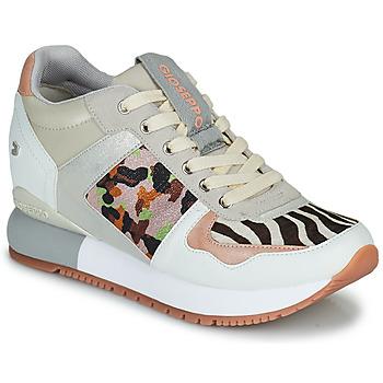 Schoenen Dames Lage sneakers Gioseppo GISKE Wit / Multikleuren