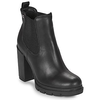 Schoenen Dames Enkellaarzen Gioseppo TINDOUF Zwart