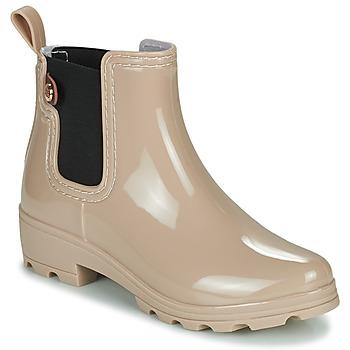 Schoenen Dames Regenlaarzen Gioseppo 40841 Nude
