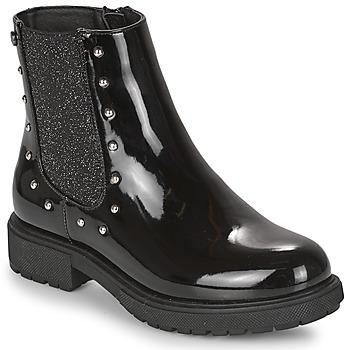 Schoenen Meisjes Laarzen Gioseppo TELAGH Zwart