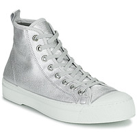 Schoenen Dames Lage sneakers Bensimon STELLA B79 SHINY CANVAS Zilver
