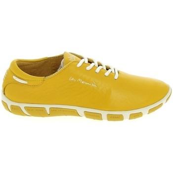 Schoenen Lage sneakers TBS Jazaru Jaune Geel
