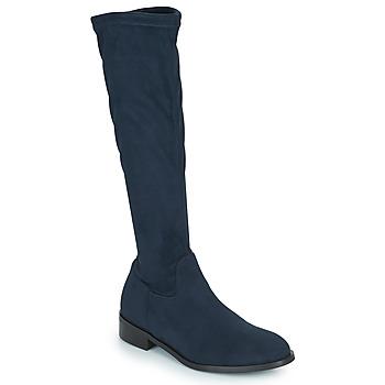 Schoenen Dames Hoge laarzen JB Martin AMOUR Blauw