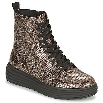 Schoenen Dames Laarzen Geox PHAOLAE Brown