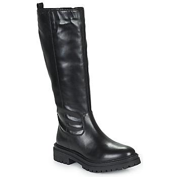 Schoenen Dames Hoge laarzen Geox IRIDEA Zwart