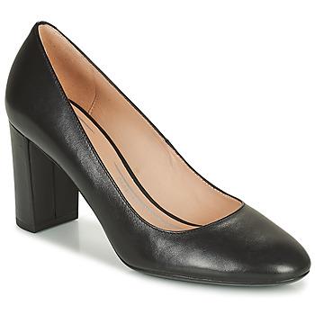 Schoenen Dames pumps Geox PHEBY Zwart