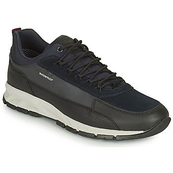 Schoenen Heren Lage sneakers Geox DELRAY WPF Marine / Zwart