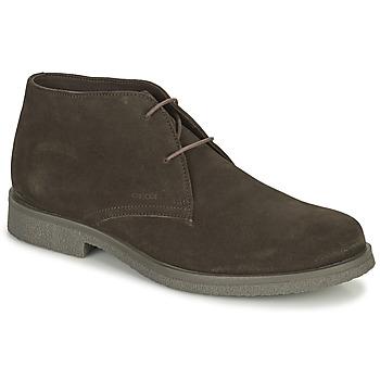Schoenen Heren Laarzen Geox CLAUDIO Brown