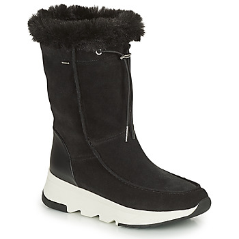 Schoenen Dames Snowboots Geox FALENA ABX Zwart