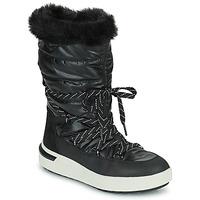 Schoenen Dames Snowboots Geox DALYLA ABX Zwart