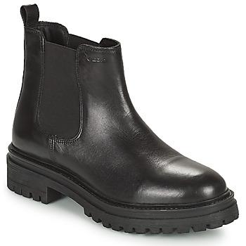Schoenen Dames Laarzen Geox IRIDEA Zwart