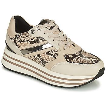 Schoenen Dames Lage sneakers Geox KENCY Beige