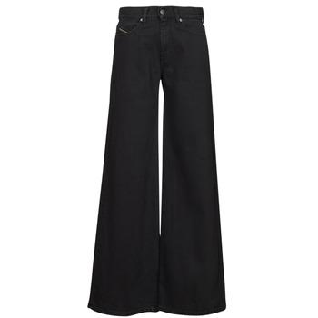 Textiel Dames Bootcut jeans Diesel D-AKEMI Zwart