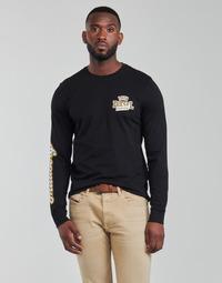 Textiel Heren T-shirts met lange mouwen Diesel T-DIEGOS-LS-K27 Zwart