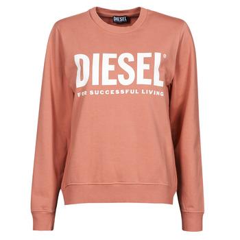 Textiel Dames Sweaters / Sweatshirts Diesel F-ANGS-ECOLOGO Roze